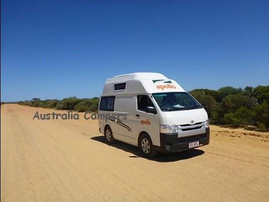 4WD Camper Australie